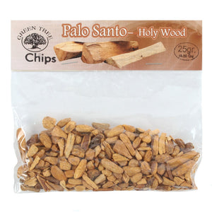Green Tree Palo Santo Thick Chips 25g