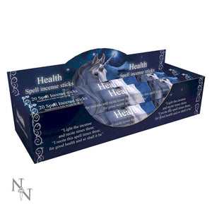 Health Spell Aloe Vera Scented Incense Sticks by Lisa Parker