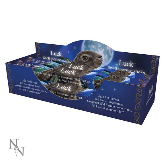 Luck Spell Sandalwood scented Incense Sticks Lisa Parker