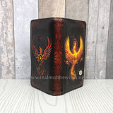 Anne Stokes Phoenix Rising Mythical Bird Embossed Purse 18.5cm
