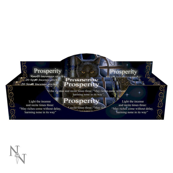 Prosperity Spell Jasmine Scented Incense Sticks by Lisa Parker