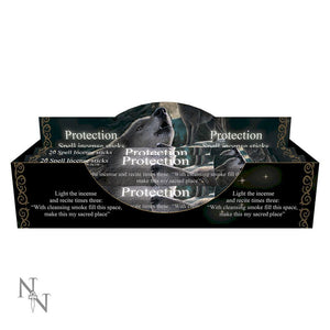 Protection Spell Lavender scented Incense Sticks by Lisa Parker