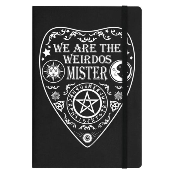 We Are The Weirdos Mister A5 Hard Cover Notebook