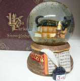 Witching Hour Snow Globe by Lisa Parker