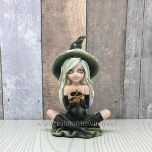 Zelda Witch & Her Skull Figurine