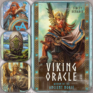 Viking Oracle Cards & Book by Stacey Demarco