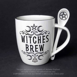 Mug and Spoon Set 'Witches Brew' by Alchemy