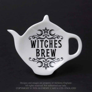'Witches Brew' Tea Spoon Rest by Alchemy