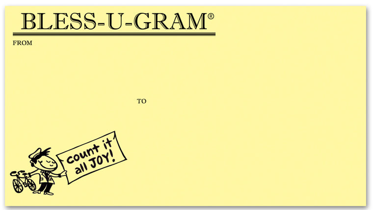 BLESS-U-GRAM® 50 Envelopes