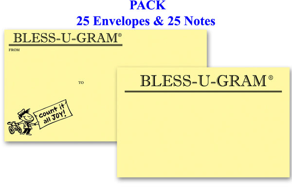 BLESS-U-GRAM® PACK of 25