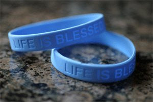 Life is Blessed® Bracelets 10 or 20 Pack