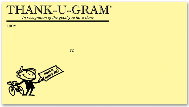 THANK-U-GRAM® 50 Envelopes
