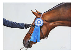 Blue Ribbon - LIMITED EDITION PRINT
