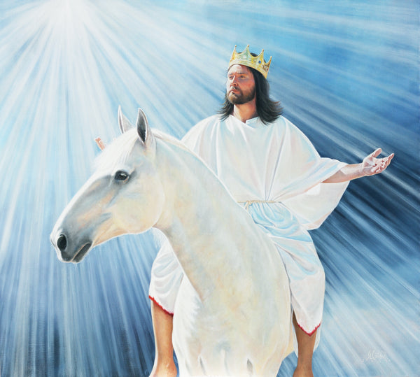 King of Kings and Lord of Lords - Canvas Print / Giclee