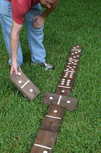 Giant Yard Dominoes Set, Lawn Dominoes, Wood Dominoes Set - Handcrafted (FREE SHIPPING)