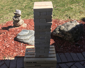 Jumbo Giant Tumbling Towers 2x3 - Handcrafted (FREE SHIPPING)