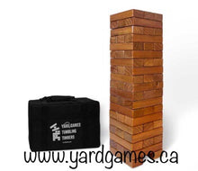 Giant Tumble Timbers stained - NEW ( FREE SHIPPING )