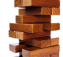 Customized Giant tumbling Timbers Stained (FREE SHIPPING)