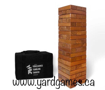 Customized Giant tumbling Timbers Stained