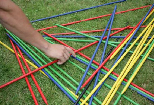 Jumbo Giant Pick Up Sticks - HANDCRAFTED (FREE SHIPPING)