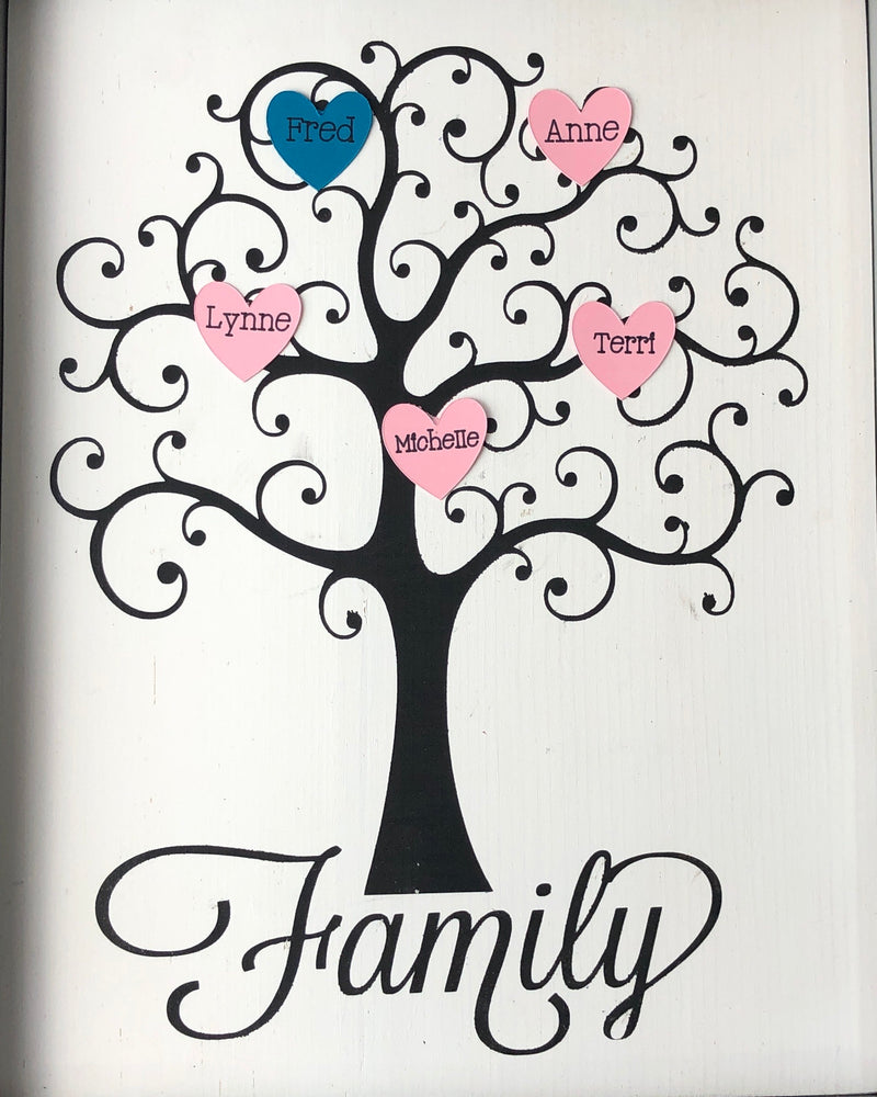 Customized Family Tree-unframed
