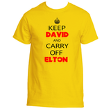 Elton John Keep Calm T-Shirt
