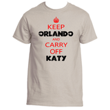 Orlando Bloom Keep Calm T-Shirt
