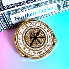 His Dark Materials Enamel Pin