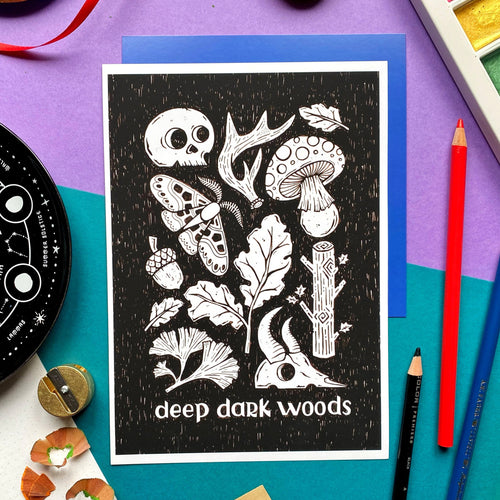 Deep Dark Woods Print
