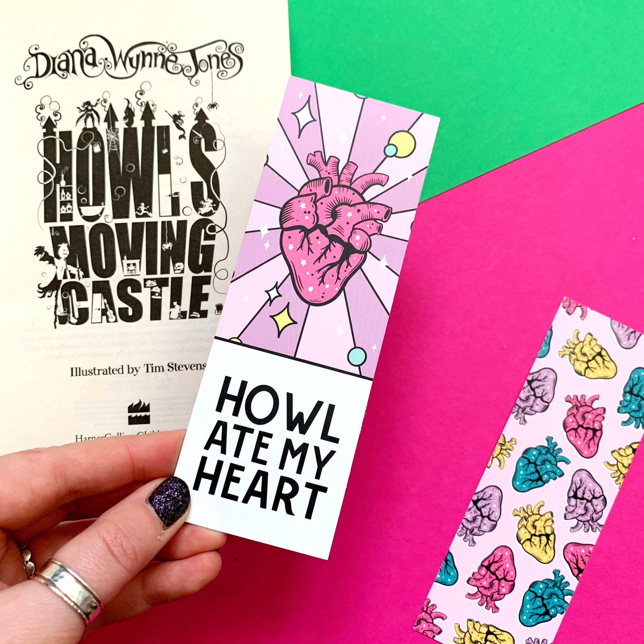 Howl ate my heart Bookmark by Fable and Black