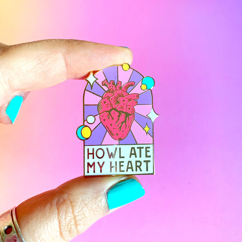 Howl's Moving Castle Enamel Pin