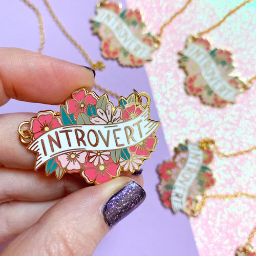 Introvert Necklace