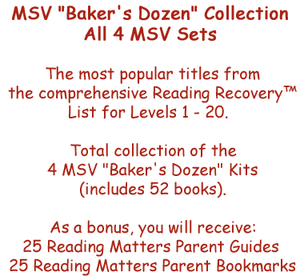 "MSV ""Baker's Dozen"" Collection - All 4 MSV Sets"