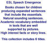 ESL Speech Emergence