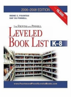 The Fountas & Pinnell Leveled Book List, K-8