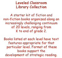 Leveled Classroom Library Collection