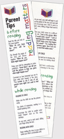 Parent Tips Bookmarks (English) - 25