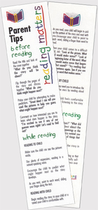 Parent Tips Bookmarks (Spanish) - 25