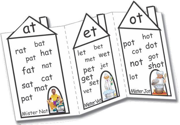 kid rhymes rhyming family houses laminated paper stock reading