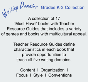 Writing Domains Grades K-2 Collection