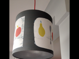 Apple + Pear Lampshade