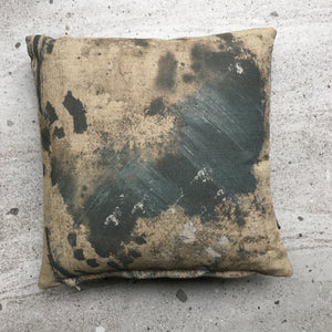 Abstract No 3 Linen Mini Cushion