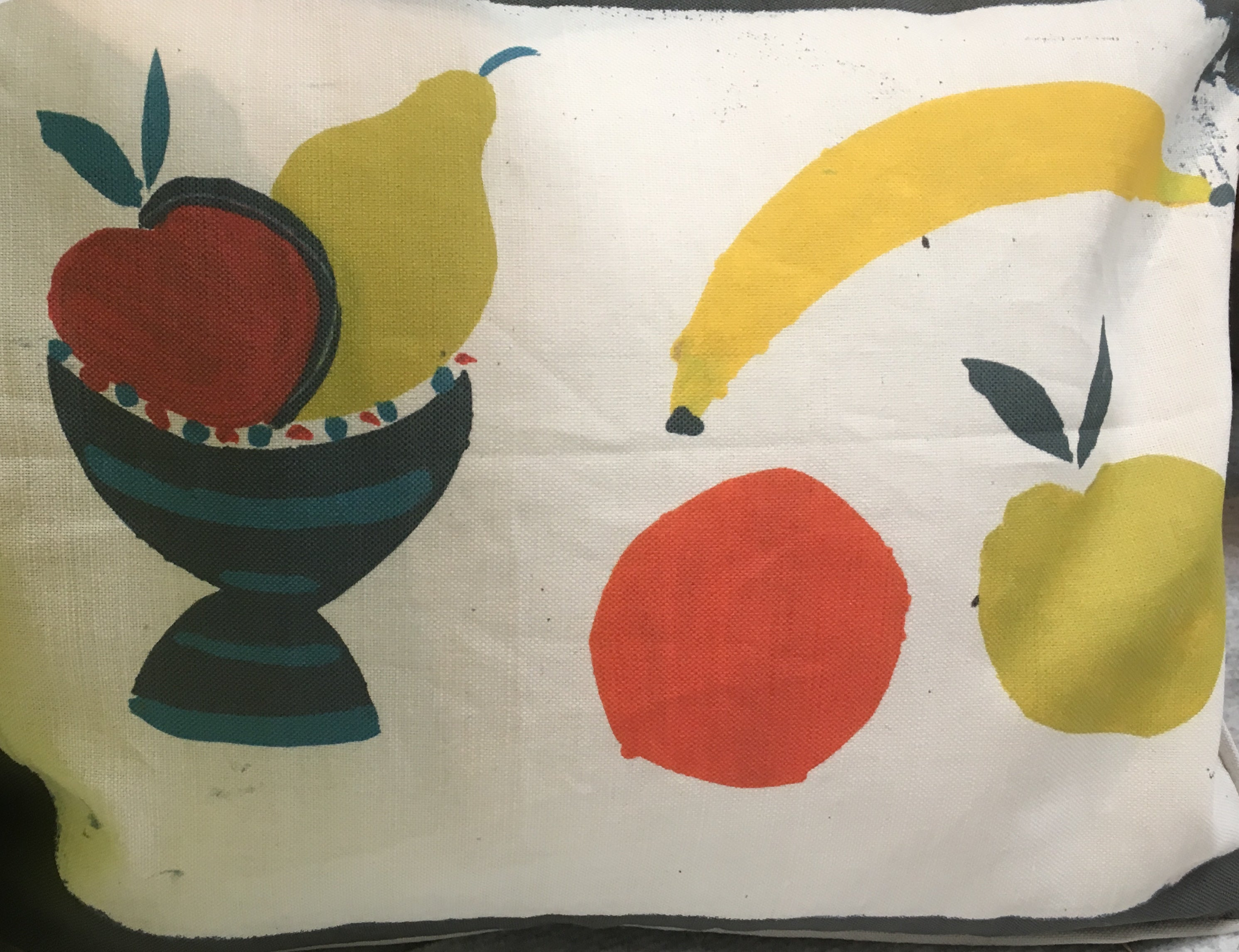 Fruit Bowl + Banana Lampshade