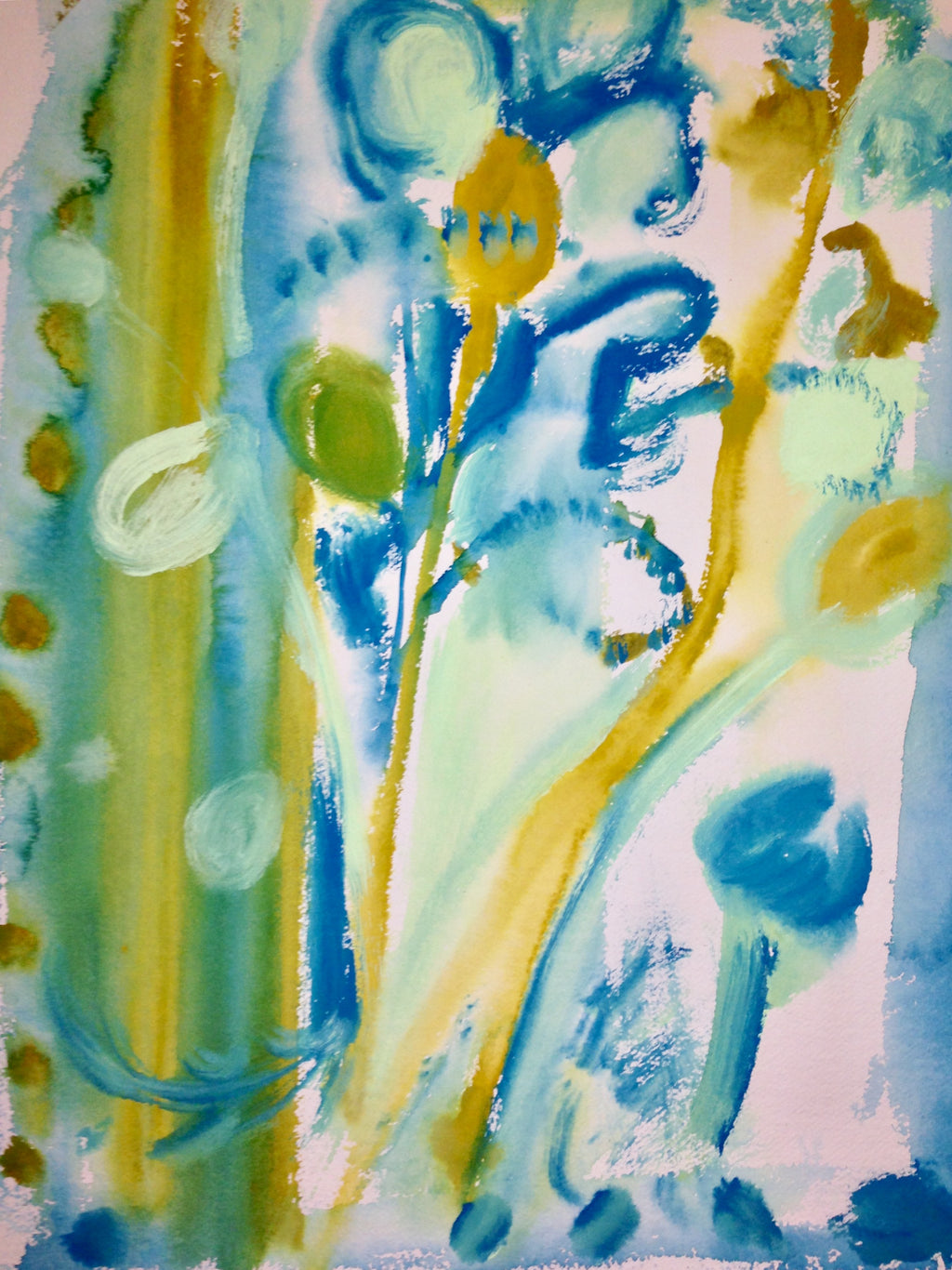 Sprigs Watercolour Painting