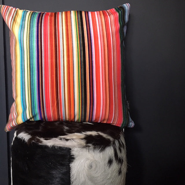 Candy Stripe Velvet Cushion * more stock coming soon *