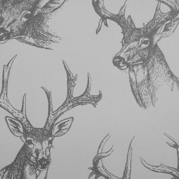 Stags Heads Wallpaper