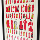 Lucienne Day, Too Many Cooks teatowel