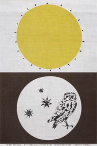 Lucienne Day, Night and Day Tea Towel