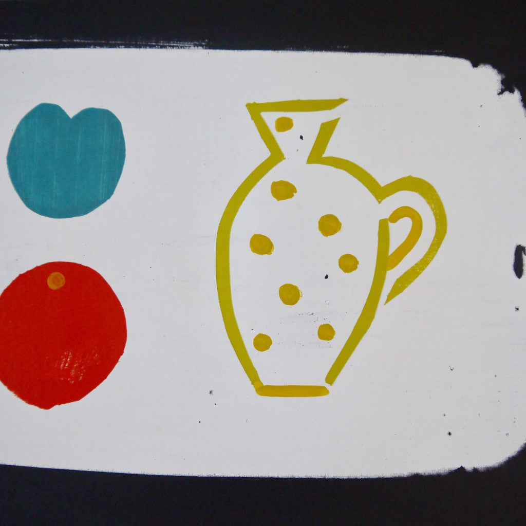 Yellow Jug Screen Print
