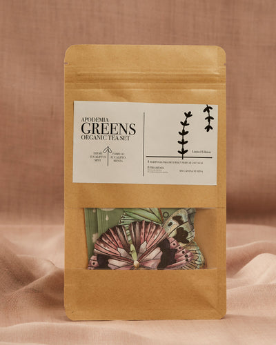 ORGANIC GREENS BUTTERFLY TEA SET
